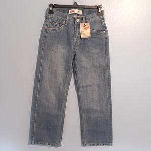 LEVI'S 550 RELAXED JEANS KIDS SIZE 10